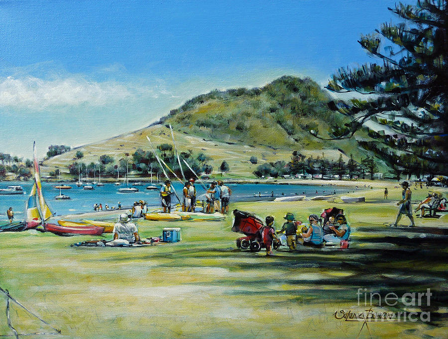 Mt Maunganui Pilot Bay 201210 Painting