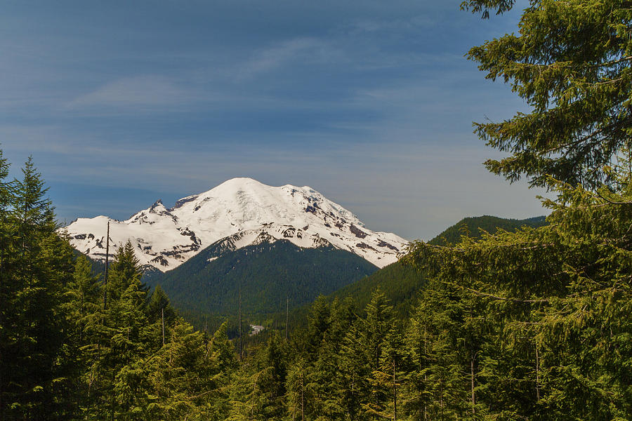 Mt Rainier Photograph
