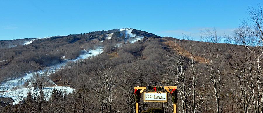 Mt Snow Vermont Photograph
