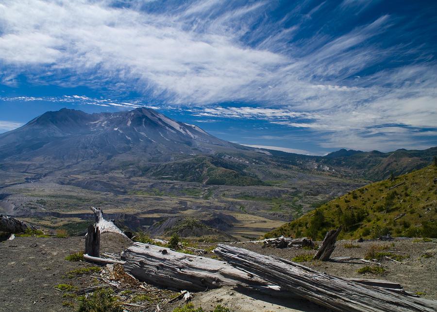 Mt St Helens Photograph