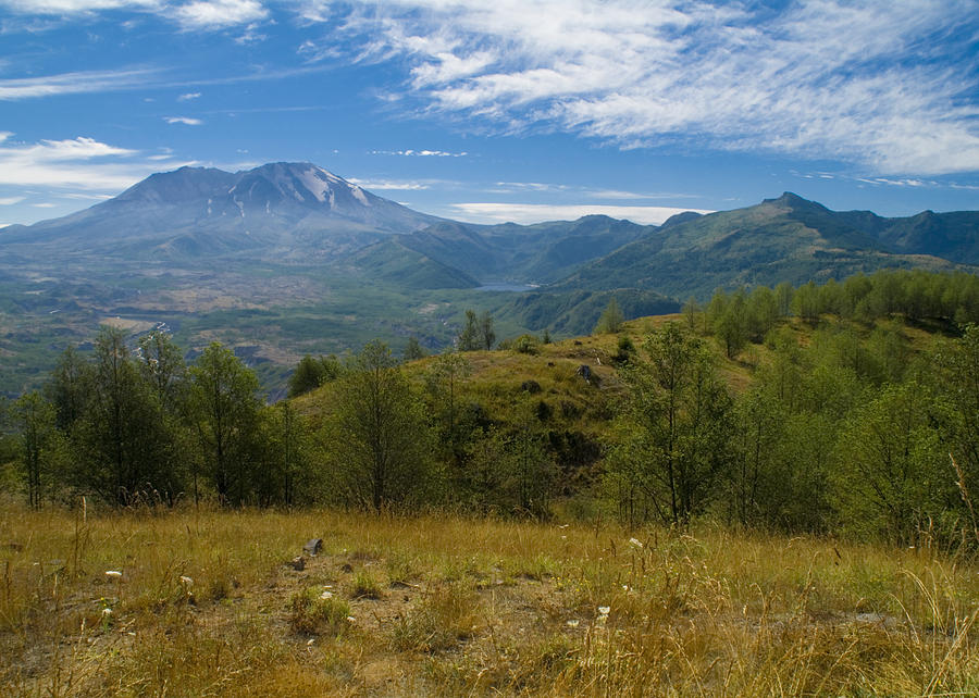 Mt St Helens I Photograph  - Mt St Helens I Fine Art Print