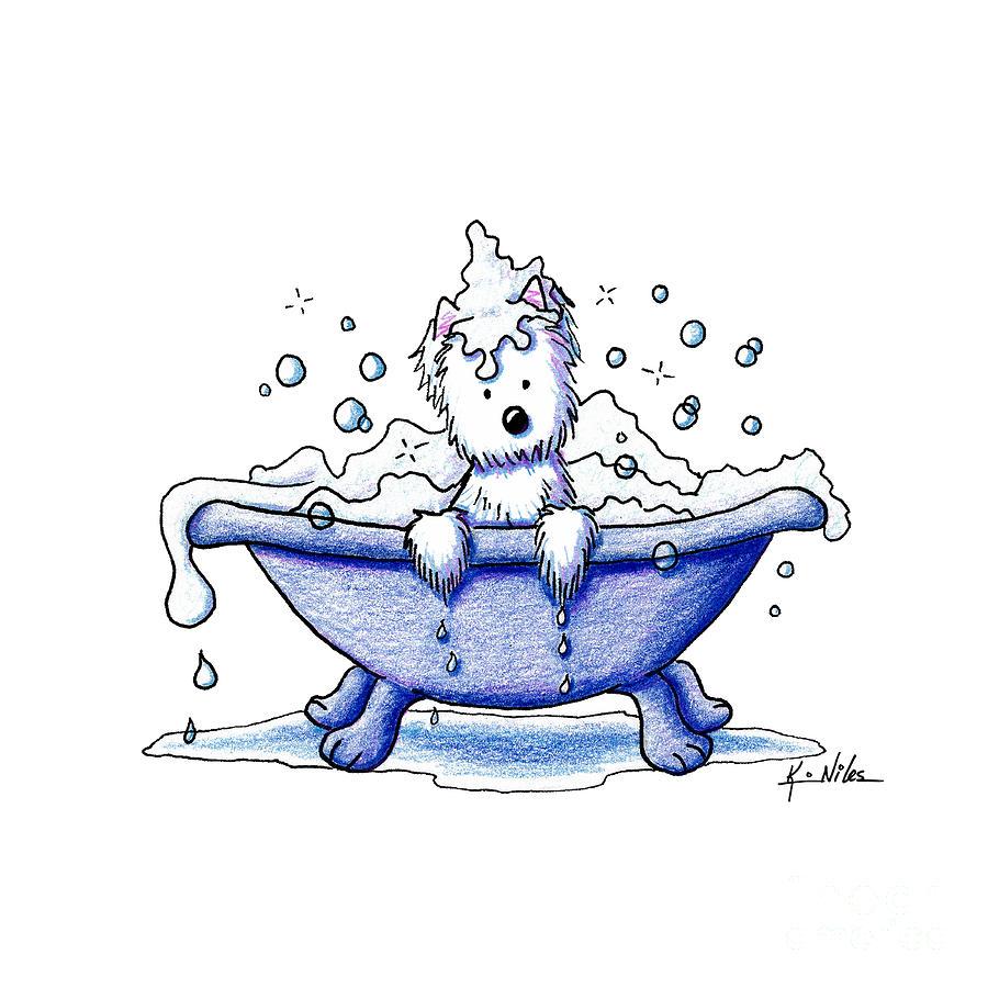 Muggles Bubble Bath Drawing