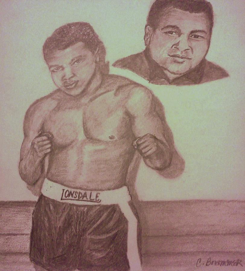 Muhammad Ali Drawing