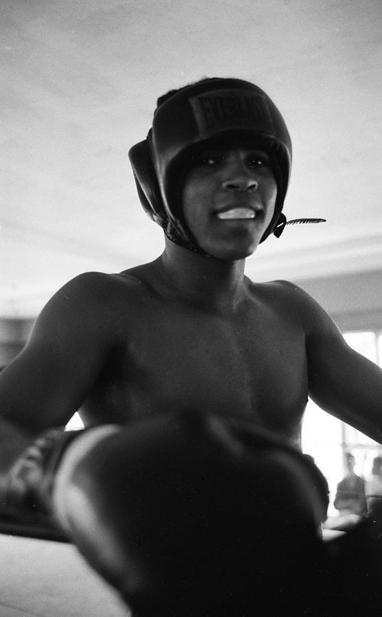 Muhammad Ali Looks Into Camera Photograph