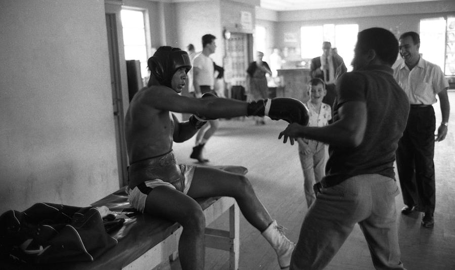 Muhammad Ali Playing Around Photograph
