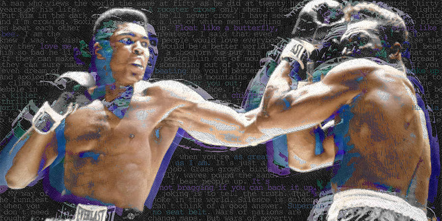 Muhammad Ali Painting - Muhammad Ali by Tony Rubino