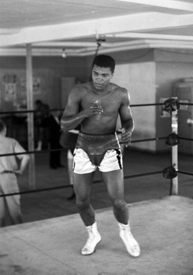 Muhammad Ali Warming Up Photograph