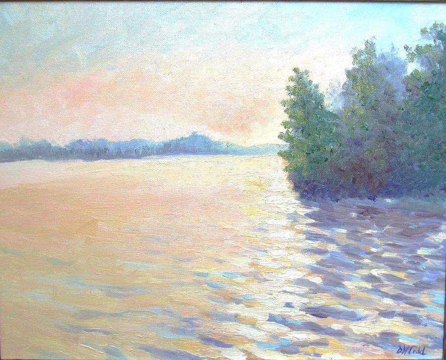 Mullica River Painting - Mullica by Dora Todd