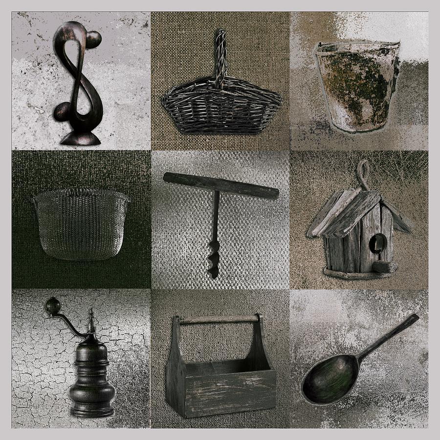 Multi Home Decor - 01v2f4c Digital Art