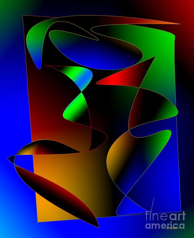 Multicolor Abstract Art Digital Art