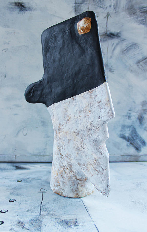 Plaster Sculpture - Mum No.12 Bandido No. 1 by Mark M  Mellon