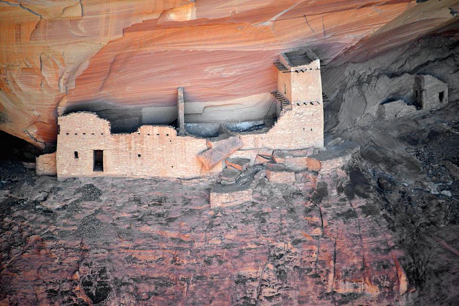 Mummy Cave Ruin Canyon Del Muerto Photograph