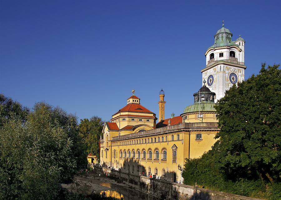 Munich - Muellersches Volksbad - Au-haidhausen Photograph