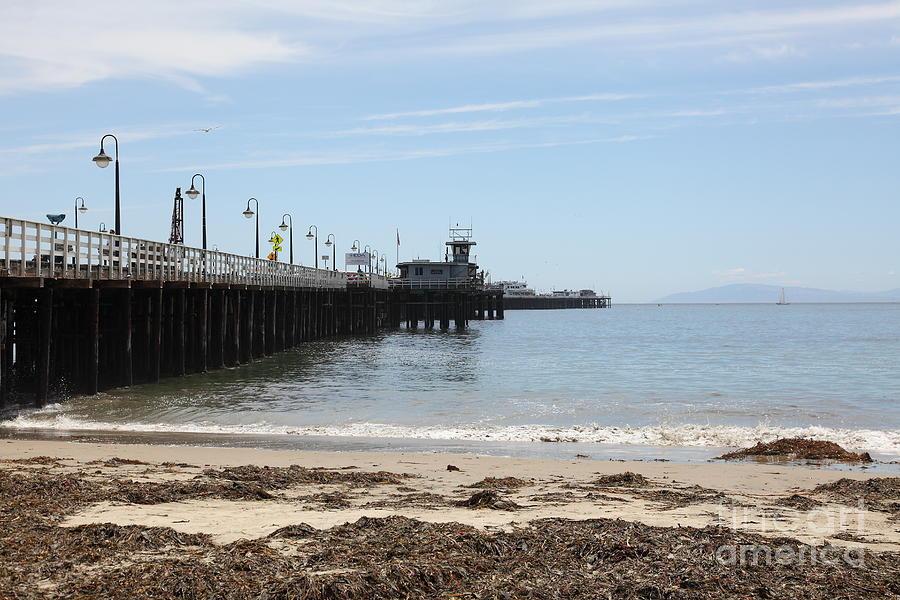 California Photograph - Municipal Wharf At The Santa Cruz Beach Boardwalk California 5d23766 by Wingsdomain Art and Photography