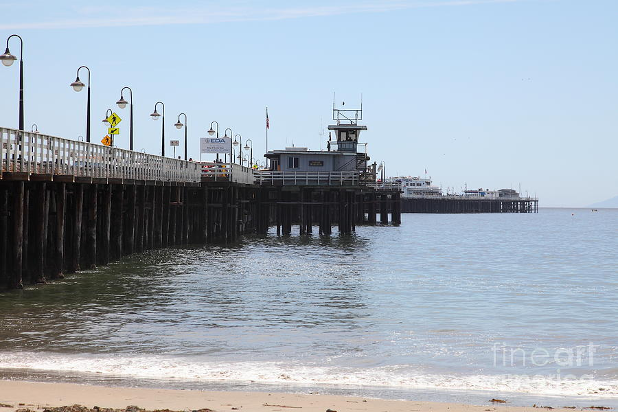 Municipal Wharf At The Santa Cruz Beach Boardwalk California 5d23767 Photograph  - Municipal Wharf At The Santa Cruz Beach Boardwalk California 5d23767 Fine Art Print