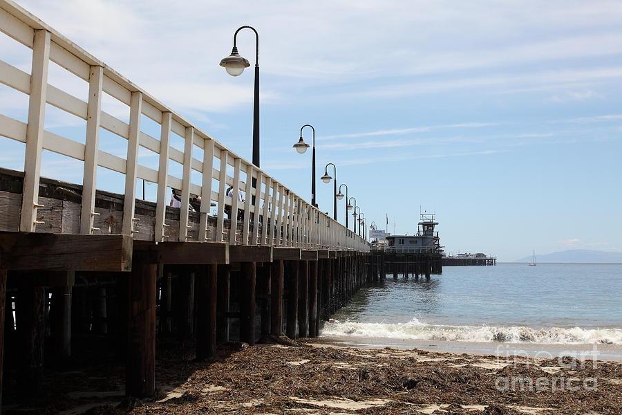 California Photograph - Municipal Wharf At The Santa Cruz Beach Boardwalk California 5d23768 by Wingsdomain Art and Photography
