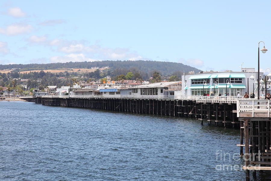 Municipal Wharf At The Santa Cruz Beach Boardwalk California 5d23813 Photograph