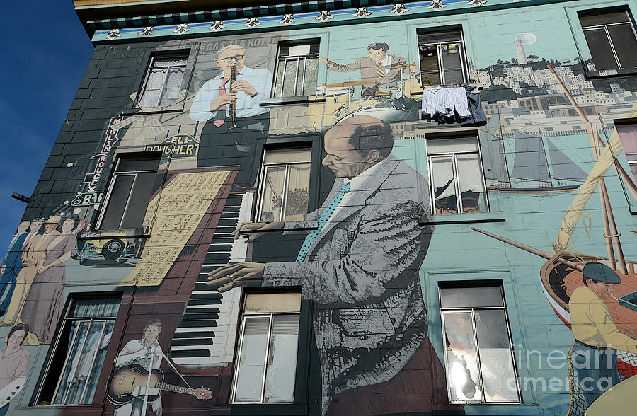 Mural In S F Photograph