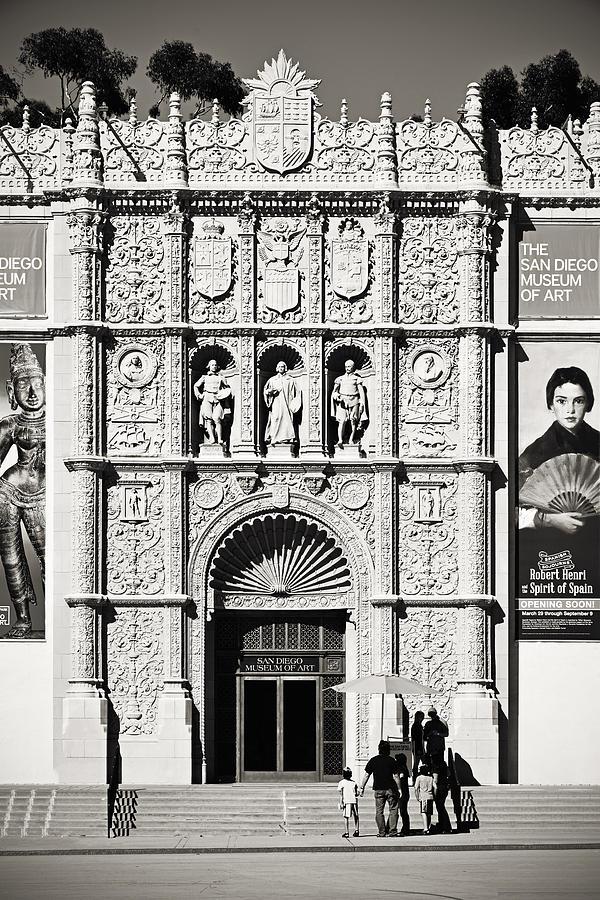 Museum Of Art San Diego Photograph