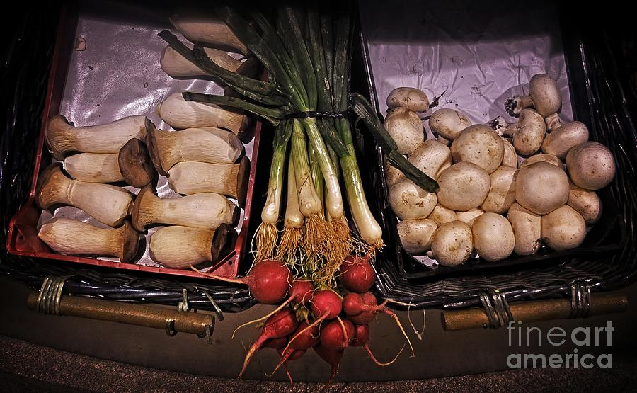 Mushrooms In The Seville Market  Photograph  - Mushrooms In The Seville Market  Fine Art Print