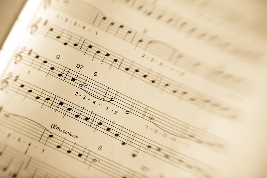 Music Photograph  - Music Fine Art Print