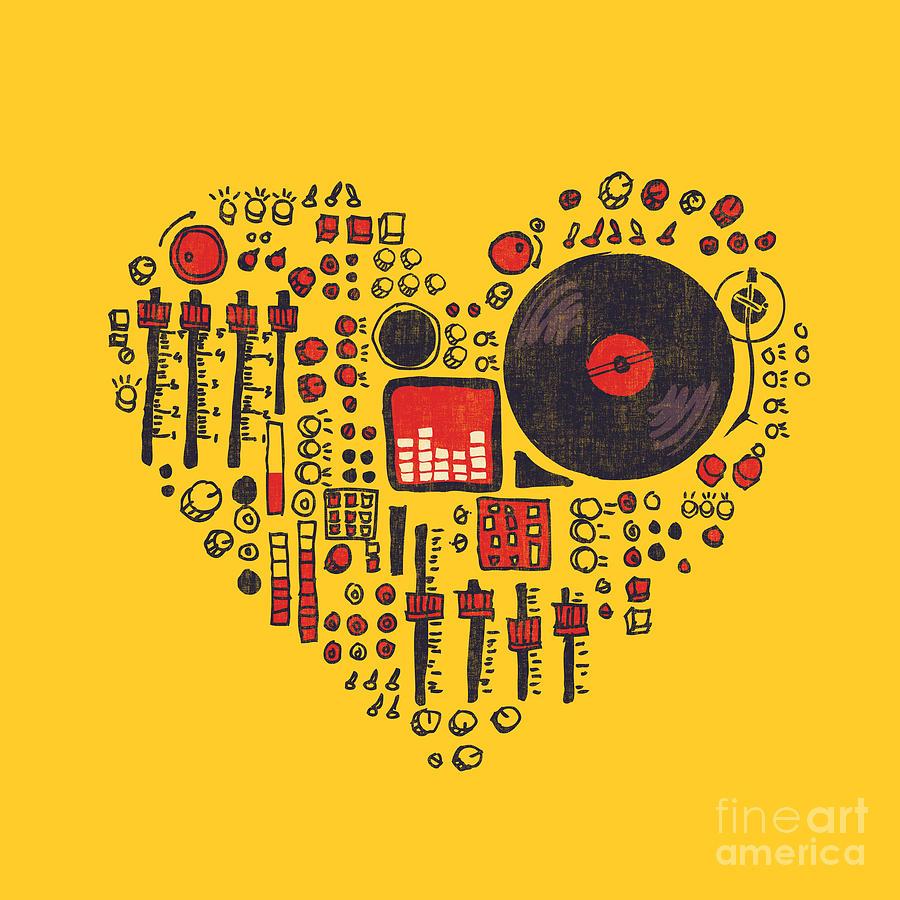 Music In Every Hearbeat Digital Art