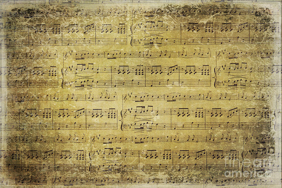 Music Photograph - Music Is What Feelings Sound Like by Sylvia Cook
