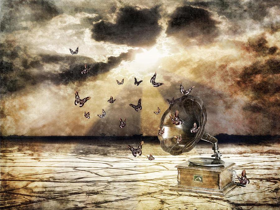 Music Of A Morning Light  Digital Art