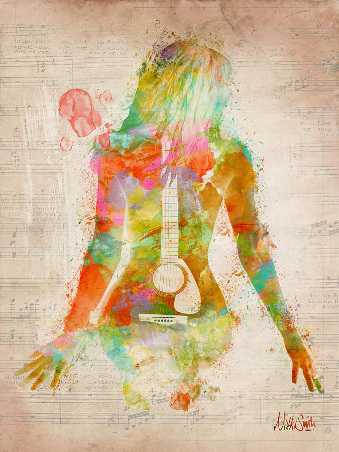 Music Was My First Love Digital Art