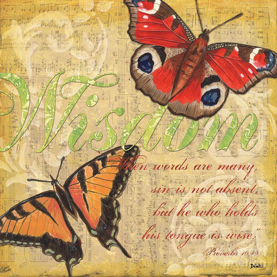 Musical Butterflies 4 Painting
