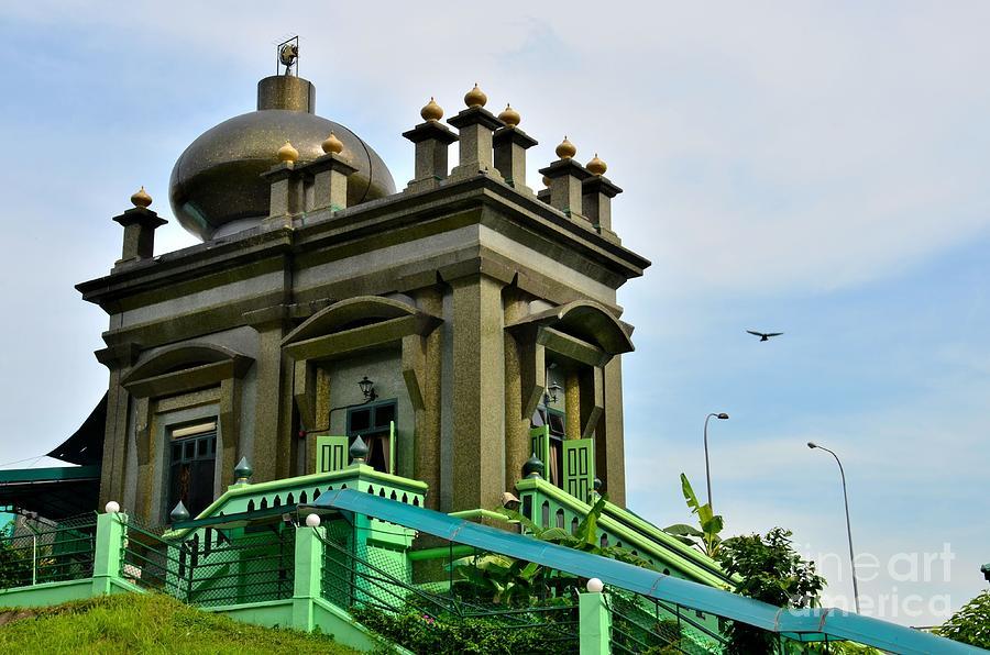 muslim mystic habib noh shrine singapore photograph by