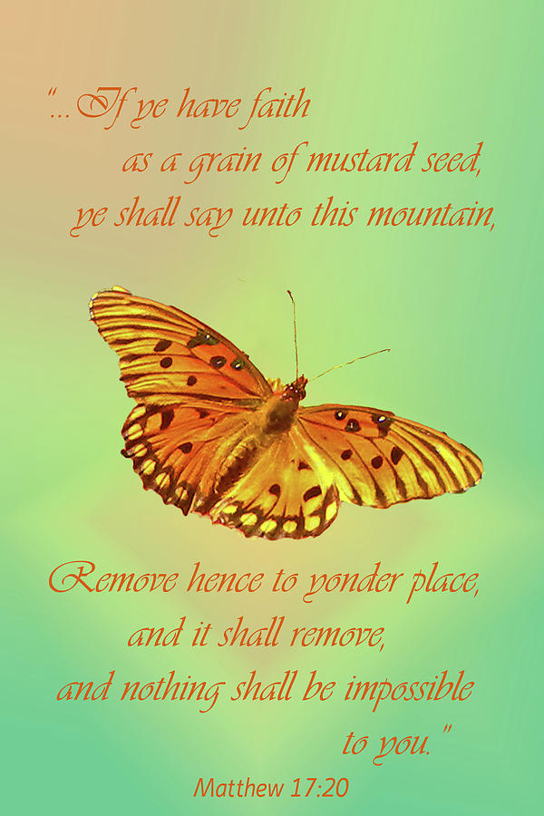 Mustard Seed Faith Photograph