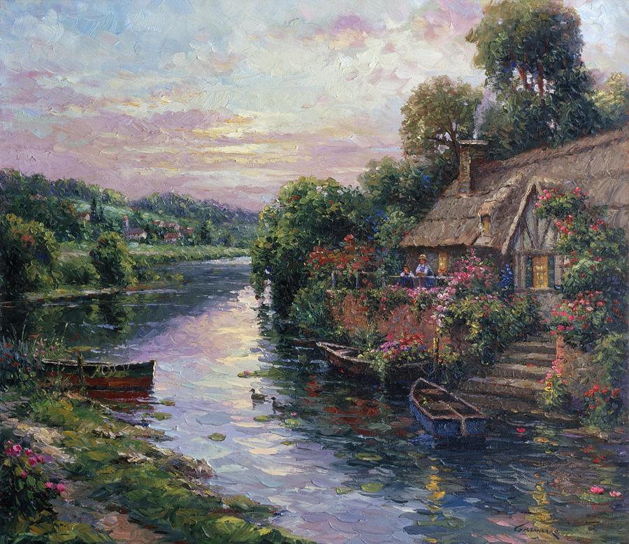 Mutual Admiration Painting