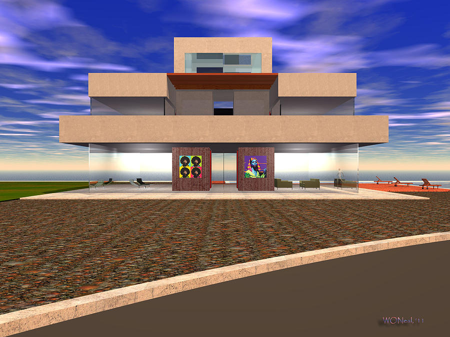 My Baraka House 1 Digital Art