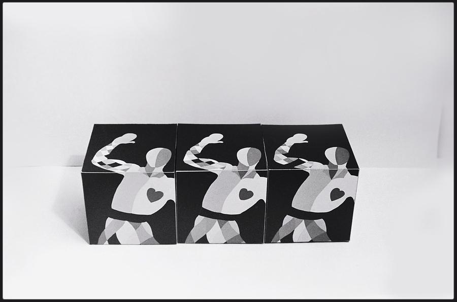 My Bauhaus Harlequin Painting