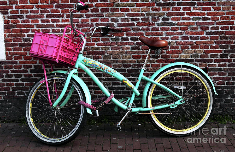 My Bike Photograph  - My Bike Fine Art Print