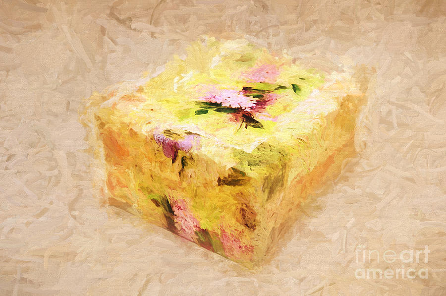 Andee Design Painterly Photograph - My Box Of Secrets by Andee Design