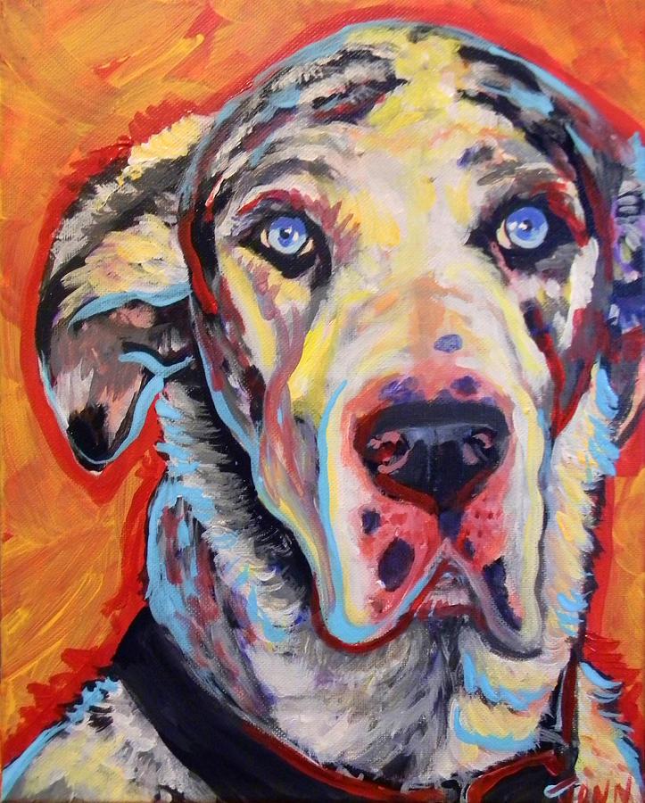 My Dane Gustav Painting