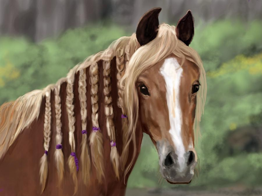 My Dream Horse Mixed Media  - My Dream Horse Fine Art Print
