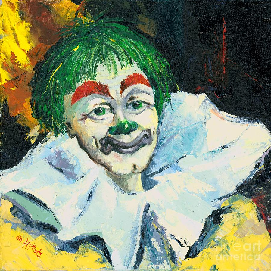 Canvas Prints Painting - My Friend by Elisabeta Hermann
