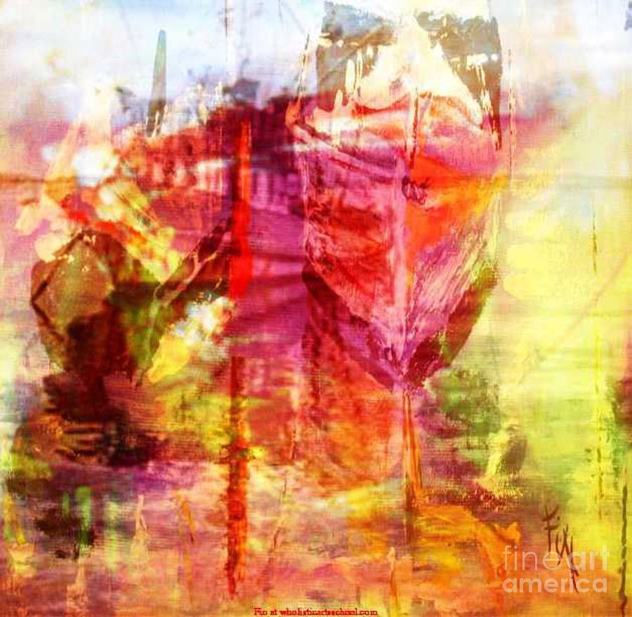 My Heart Belongs To You Painting By Painterartistfin Painting - My Heart Belongs To You Ocean by PainterArtist FIN