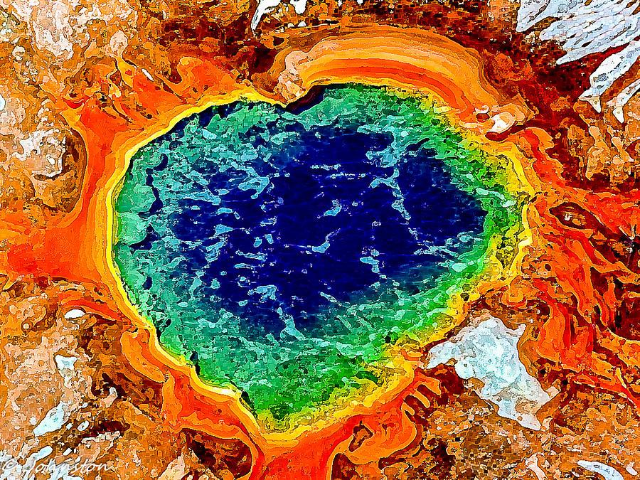 My  Heart Is On Fire Digital Art