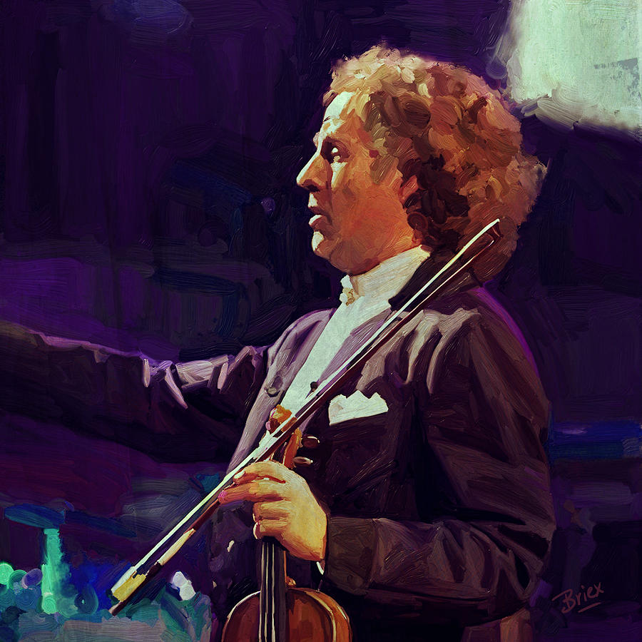 My Hero. Andre Rieu Painting  - My Hero. Andre Rieu Fine Art Print
