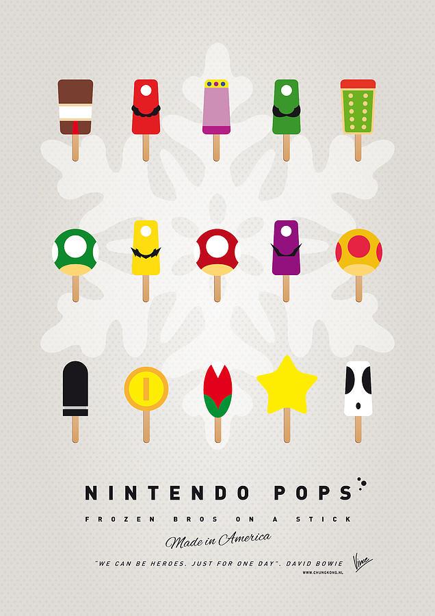 My Mario Ice Pop - Univers Digital Art