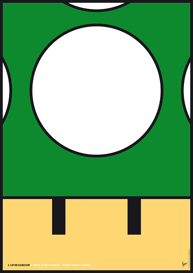 My Mariobros Fig 05b Minimal Poster Digital Art  - My Mariobros Fig 05b Minimal Poster Fine Art Print