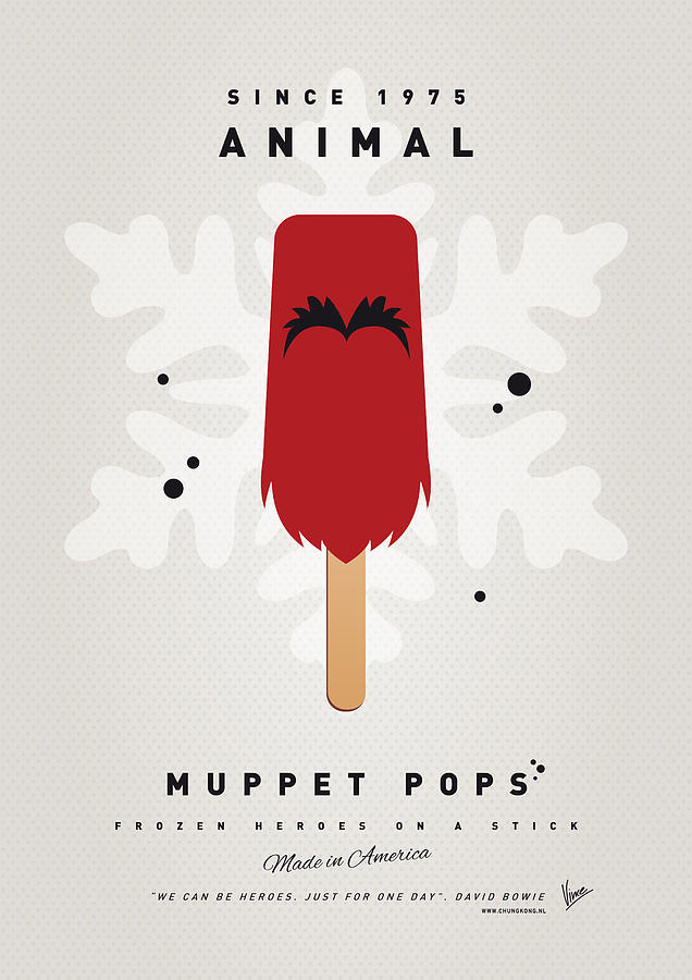 My Muppet Ice Pop - Animal Digital Art