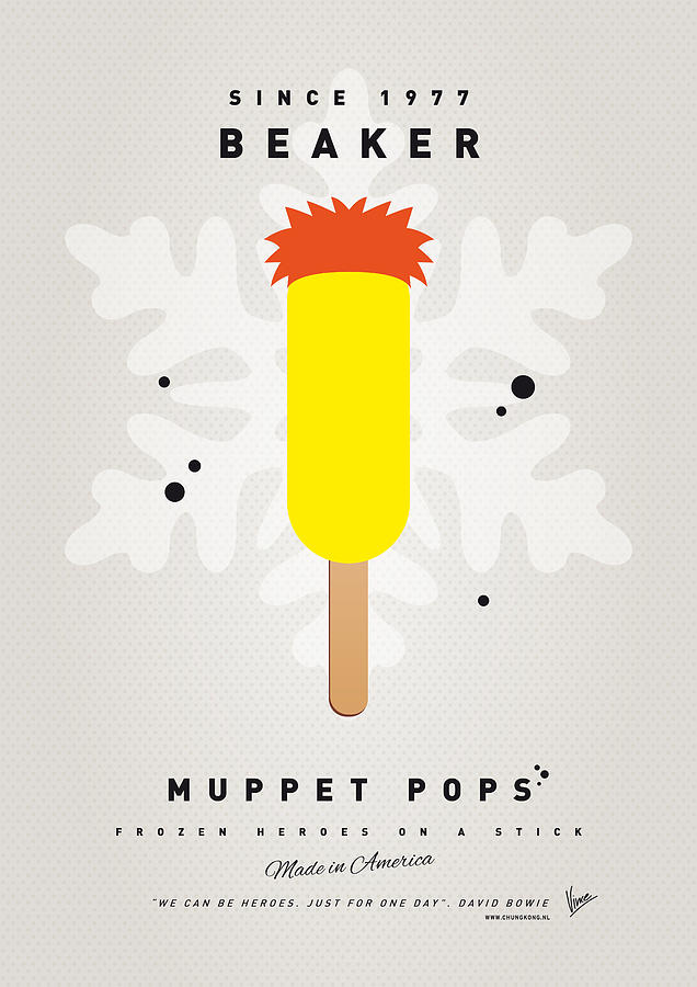 My Muppet Ice Pop - Beaker Digital Art
