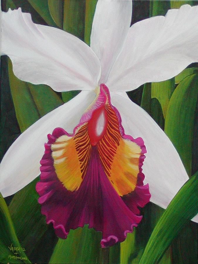 My Orchid  Painting