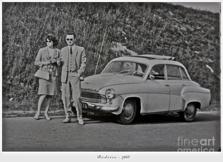 My Parents Were Awesome .  Days Gone By Good Goin.1963. Photographer Andrzej Goszcz. Photograph