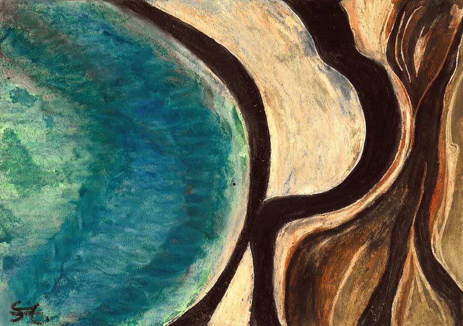 My Seascape I Painting - My Seascape I by Carla Sa Fernandes